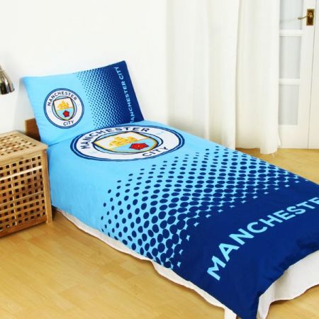 Спално Бельо MANCHESTER CITY Reversible Single Duvet Set FD 507009 g05duvmcfd