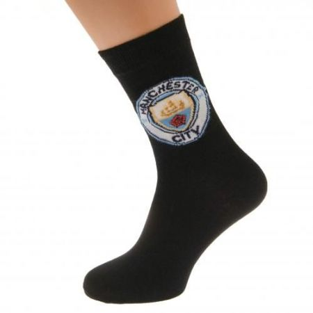 Чорапи MANCHESTER CITY Socks 1 Pack 6-11 512057 y57sadmcn изображение 3