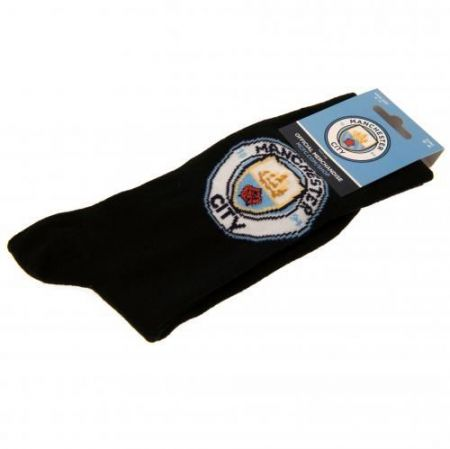 Чорапи MANCHESTER CITY Socks 1 Pack 6-11 512057 y57sadmcn изображение 4