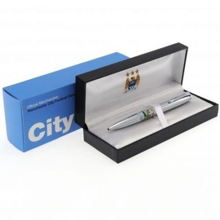Луксозен Химикал MANCHESTER CITY  Executive Ball Point Pen 503746 2669