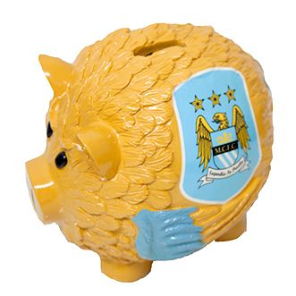 Касичка MANCHESTER CITY Wings Piggy Bank Big 511337