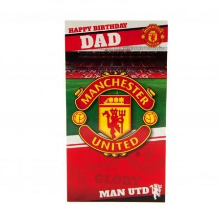 Картичка MANCHESTER UNITED Birthday Card Dad 505512 z01carmuda изображение 3