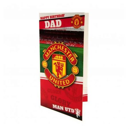 Картичка MANCHESTER UNITED Birthday Card Dad 505512 z01carmuda