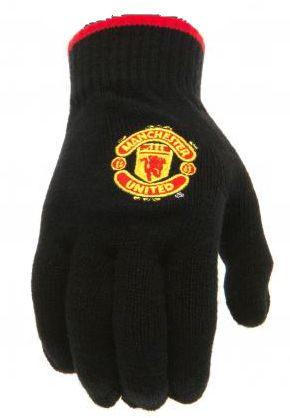 Ръкавици MANCHESTER UNITED Knitted Gloves 505533 v22knamubr изображение 2