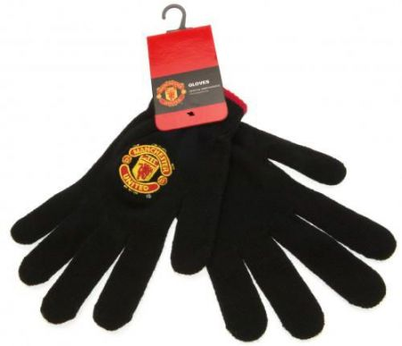 Ръкавици MANCHESTER UNITED Knitted Gloves 505533 v22knamubr изображение 3