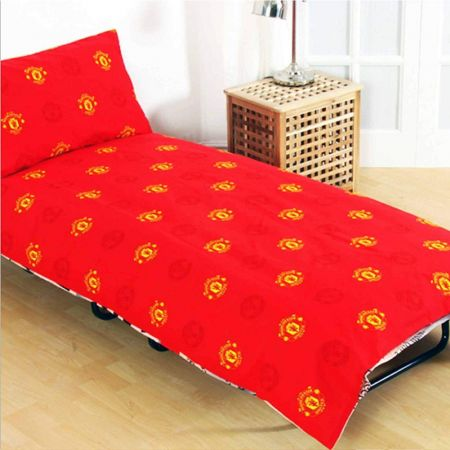 Спално Бельо MANCHESTER UNITED Reversible Single Duvet Set PL 503762 h10duvmaupl изображение 2