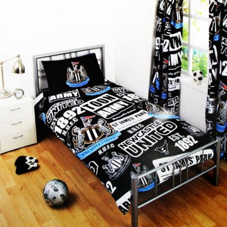 Спално Бельо NEWCASTLE UNITED Single Duvet Set PT 500290