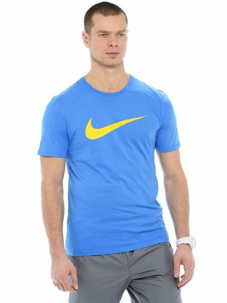 Мъжка Тениска NIKE Chest Swoosh T-Shirt 502244 696699-435 изображение 3