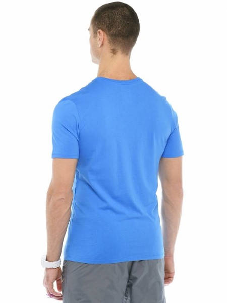 Мъжка Тениска NIKE Chest Swoosh T-Shirt 502244 696699-435 изображение 4
