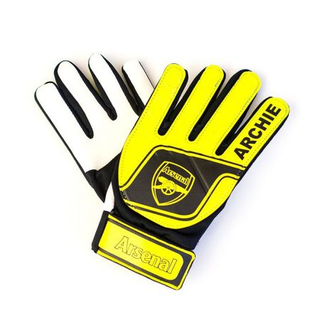 Вратарски Ръкавици ARSENAL Goalkeeper Gloves Fluo 507033 d50gfyar-12206