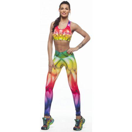 Дамски Комплект Клин/Бюстие EX FIT Training Kit Rainbow 509524