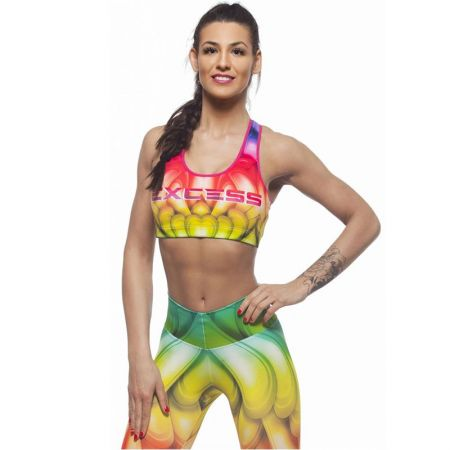 Дамско Бюстие EX FIT Sports Bra Rainbow 509529