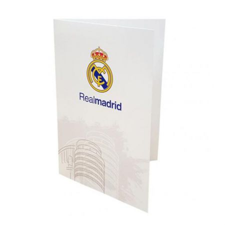 Картичка REAL MADRID Greetings Card WT 501535 w10carrmw-z01carrmw