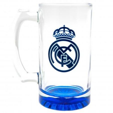 Халба REAL MADRID Stein Glass Tankard CC