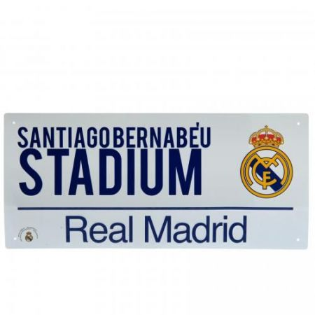 Табела REAL MADRID Street Sign 40х18cm 511766 f40ssirm