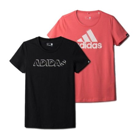 Дамски Комплект Тениски ADIDAS Blurry Pack Тее 502285 AI6167