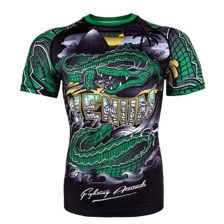 Мъжки Рашгард VENUM Crocodile Rashguard - Short Sleeves 514205 03282-102