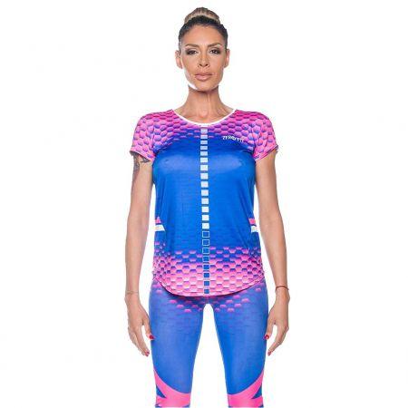 Дамска Тениска ZERO FIT Hexagon Tee 510211