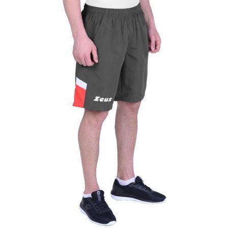 Мъжки Къси Панталони ZEUS Bermuda Vesuvio Dark Grey/Rosso 512874 Bermuda Vesuvio