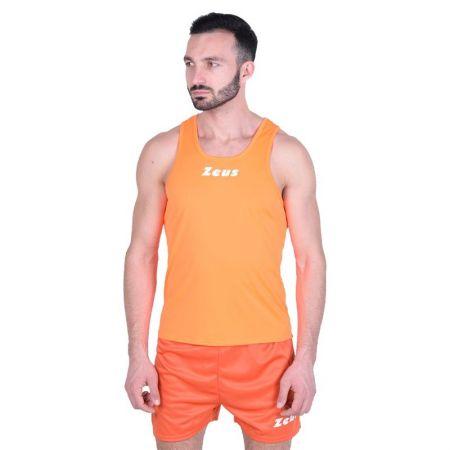 Мъжки Потник ZEUS Canotta Beach Uomo Pro Arancio Fluo 506122 Canotta Beach Uomo Pro