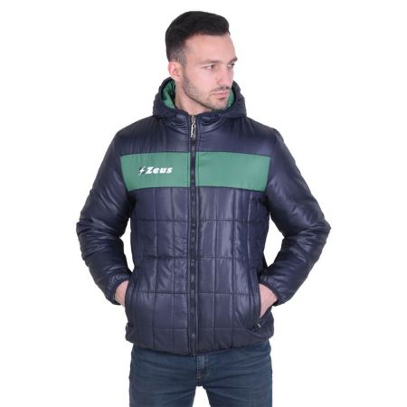 Двулицево Мъжко Яке ZEUS Reversible Giubbotto Apollo Blu/Verde 506879 Giubbotto Apollo