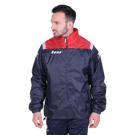 Мъжкa Ветровка ZEUS K-Way Vesuvio Blu Rosso 512898 K-Way Vesuvio