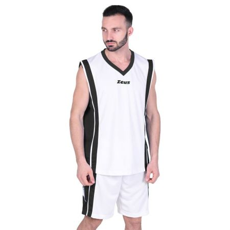 Баскетболен Екип ZEUS Kit Bozo Bianco/Nero 506163 Kit Bozo