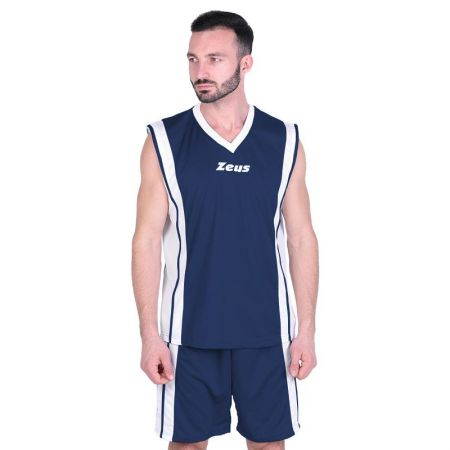 Баскетболен Екип ZEUS Kit Bozo Blu/Bianco 506167 Kit Bozo