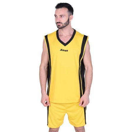 Баскетболен Екип ZEUS Kit Bozo Giallo/Nero 506161 Kit Bozo