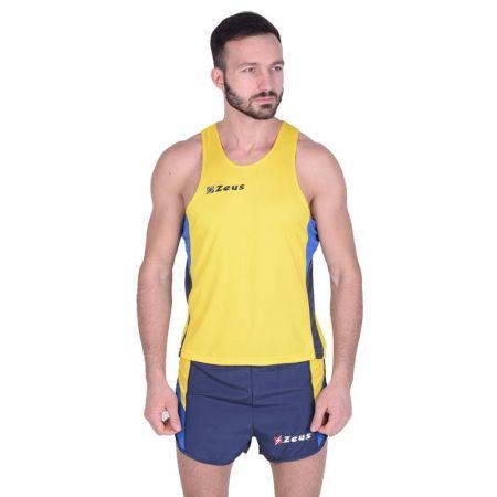 Екип За Бягане ZEUS Kit Bruno Giallo/Royal/Bianco 506225 Kit Bruno