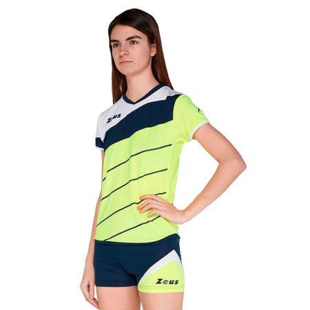 Дамски Волейболен Екип ZEUS Kit Lybra Donna Giallo fluo/Blu 506053 Kit Lybra Donna
