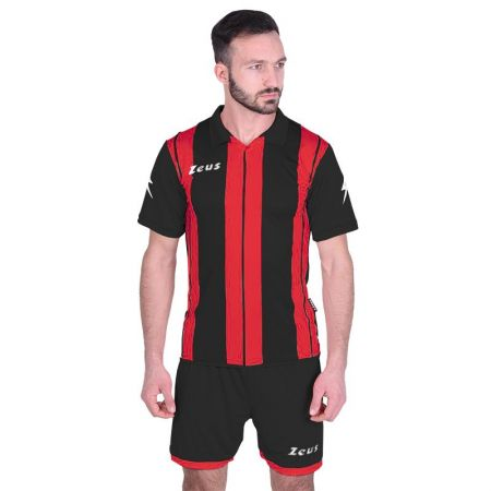 Футболен Екип ZEUS Kit Pitagora MC Nero/Rosso 516802 KIT PITAGORA MC