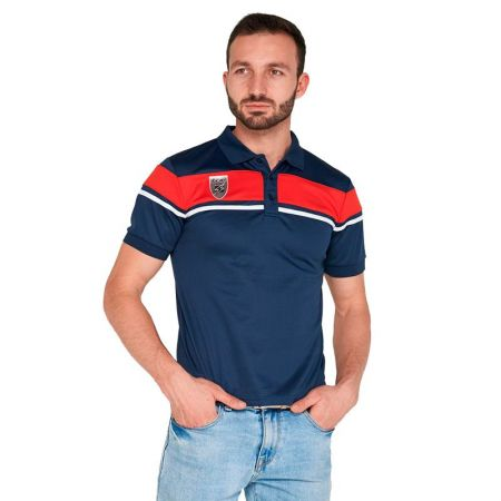 Мъжка Тениска ZEUS Polo Achille Blu/Rosso 506708 Polo Achille
