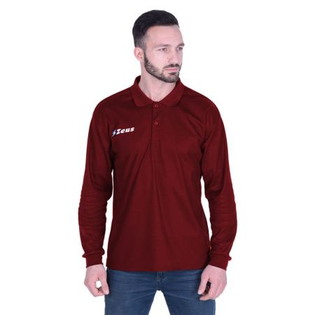 Мъжка Блуза ZEUS Polo Basic ML Granata 506681 Polo Basic ML