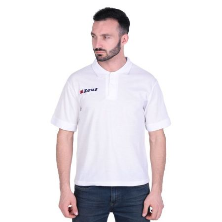 Мъжка Тениска ZEUS Polo Basic Bianco 506659 Polo Basic