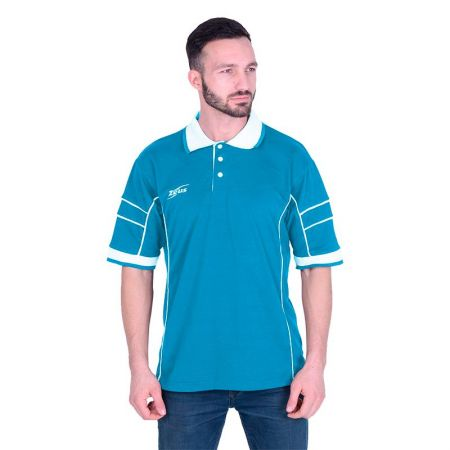 Мъжка Тениска ZEUS Polo Keller Royal/Bianco 510231 Polo Keller
