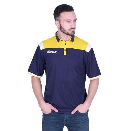 Мъжка Тениска ZEUS Polo Vesuvio Blu/Giallo 512889 Polo Vesuvio