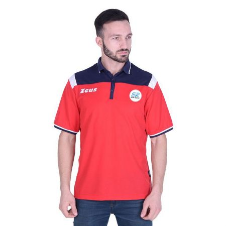 Мъжка Тениска ZEUS Polo Vesuvio SR Logo 516084 Polo Vesuvio SR