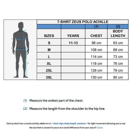 Мъжка Тениска ZEUS Polo Achille 506707 Polo Achille изображение 5
