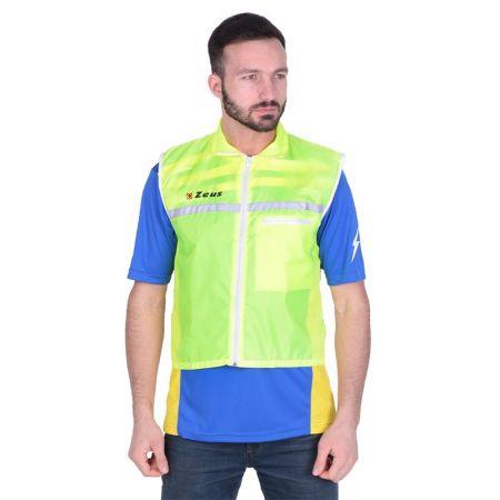 Мъжки Елек/Ветровка ZEUS Rain Jacket Runner Smanicato Fluorescente 506248 Rain Jacket Runner Smanicato