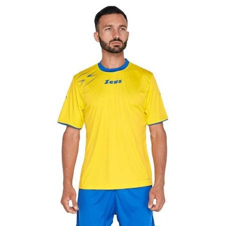 Мъжка Тениска ZEUS Shirt Mida Giallo/Royal 515592 Shirt Mida