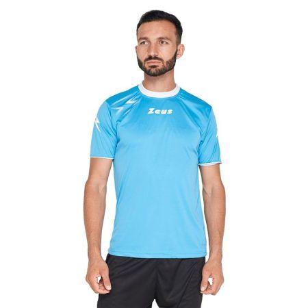 Мъжка Тениска ZEUS Shirt Mida Turquoise/Bianco 515597 Shirt Mida