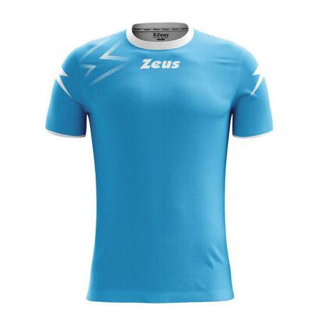 Детска Тениска ZEUS Shirt Mida Turquoise/Bianco 515605 Shirt Mida