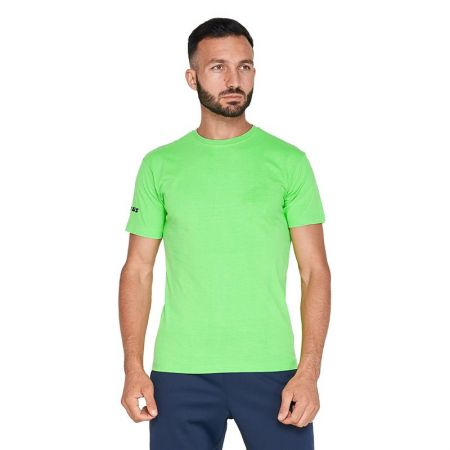 Мъжка Тениска ZEUS T-Shirt Basic Verde Fluo 510414 T-Shirt Basic - fluo