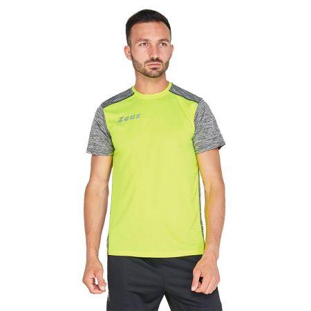Мъжка Тениска ZEUS T-Shirt Click Giallo Fluo 515506 T-Shirt Click