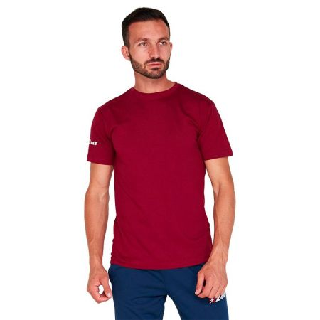 Мъжка Тениска ZEUS T-Shirt Basic Granata 506733 T-Shirt Basic