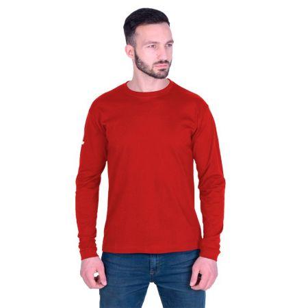 Мъжка Блуза ZEUS T-Shirt Basic ML Rosso 506761 T-Shirt Basic ML