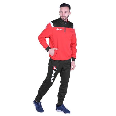 Мъжки Анцуг ZEUS Tuta Training Vesuvio Rosso/Dark Grey 512924 Tuta Training Vesuvio