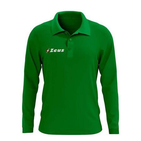 Детска Блуза ZEUS Polo Basic ML Verde 506693 Polo Basic ML