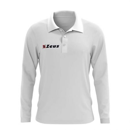 Мъжка Блуза ZEUS Polo Basic ML Bianco 506676 Polo Basic ML